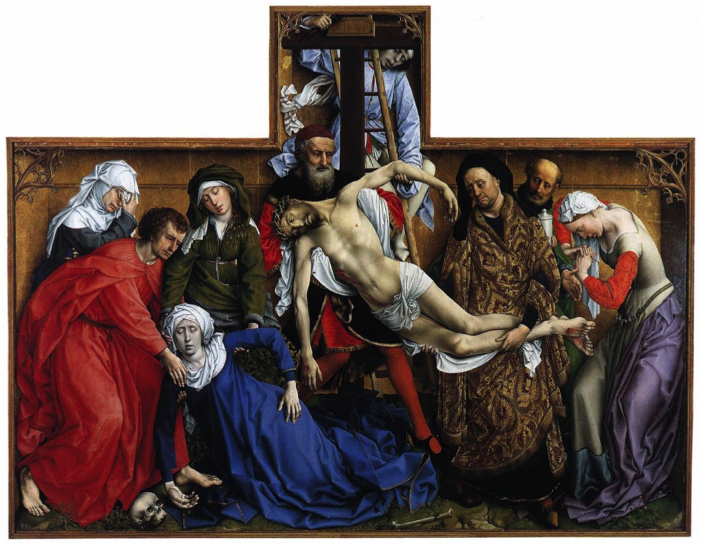 The Descent from the Cross by Rogier Van Der Weyden (1435)