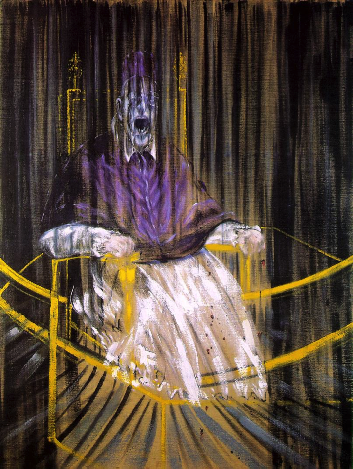 Study after Velázquez's Portrait of Pope Innocent X, 1953