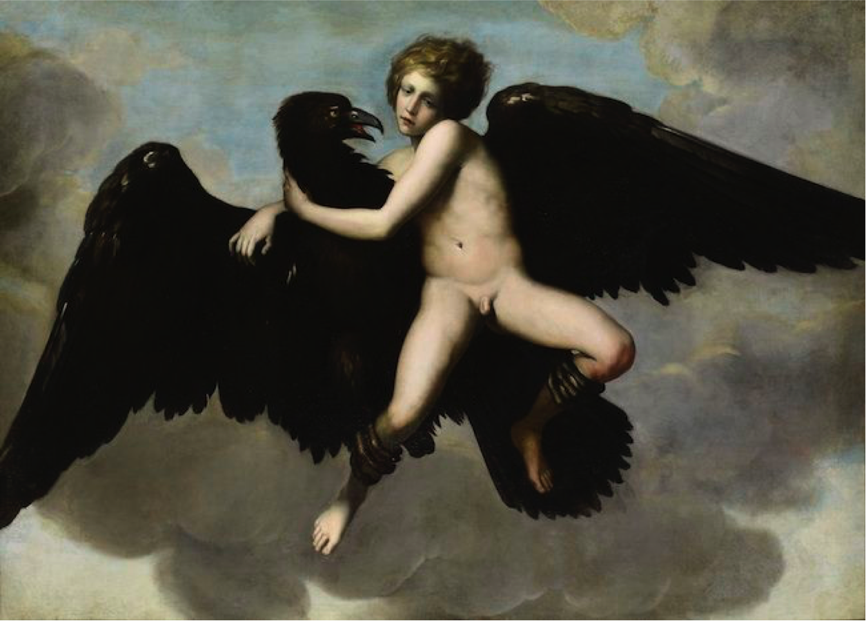 The abduction of Ganymede, Unknown artist 1534