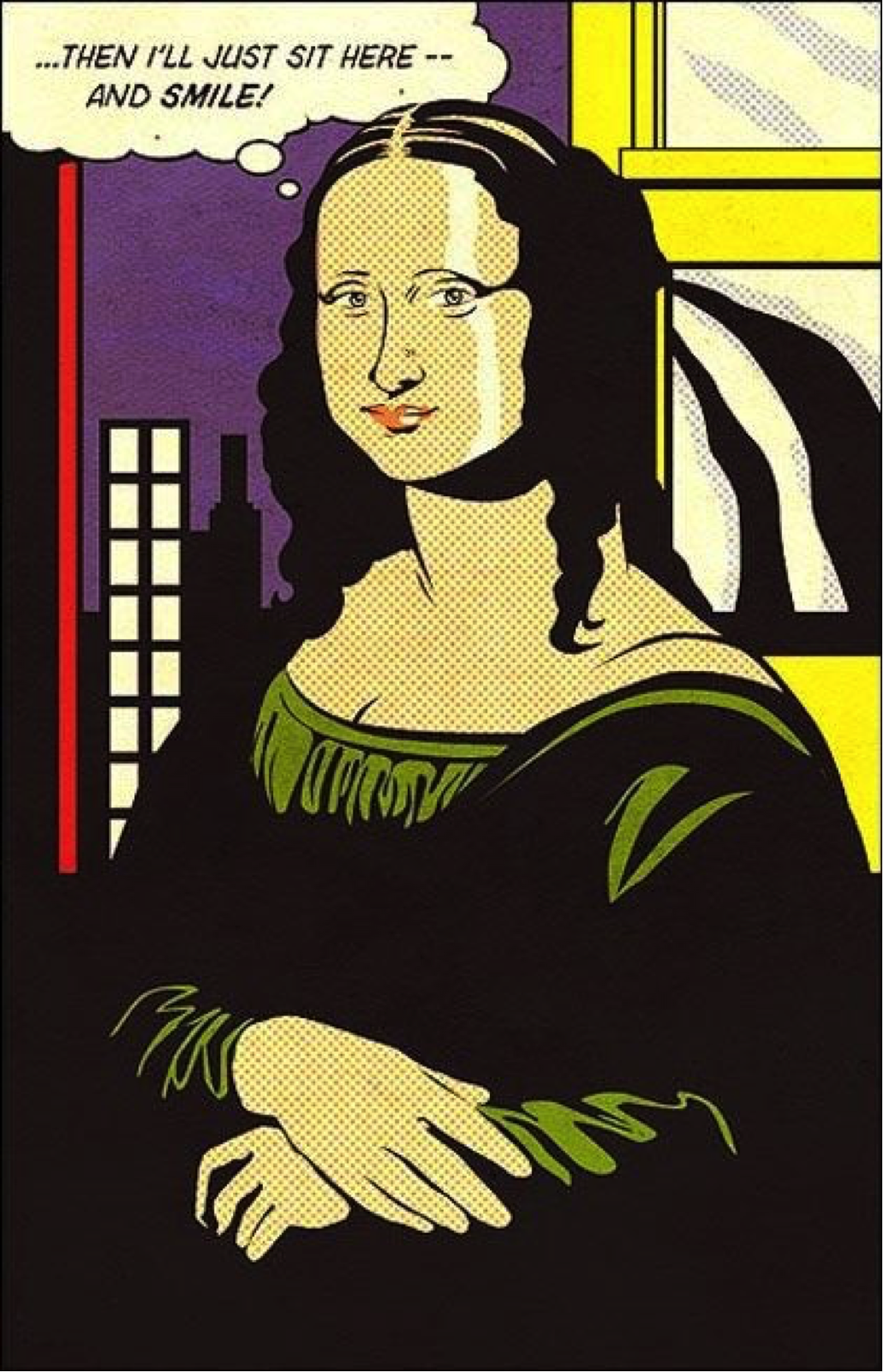 Mona Lisa, Roy Liechtenstein