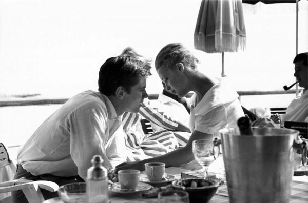 Alain Delon et Romy Schneider par Claude Azoulay