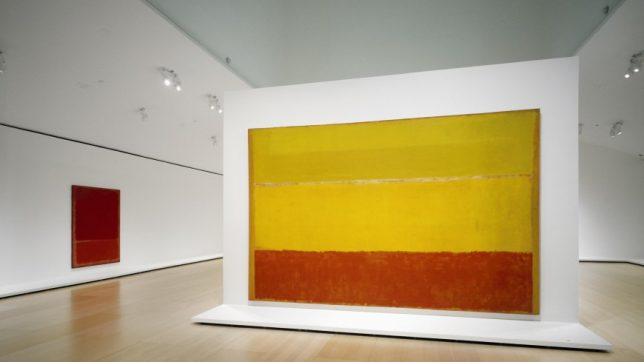 Rothko, abstraction
