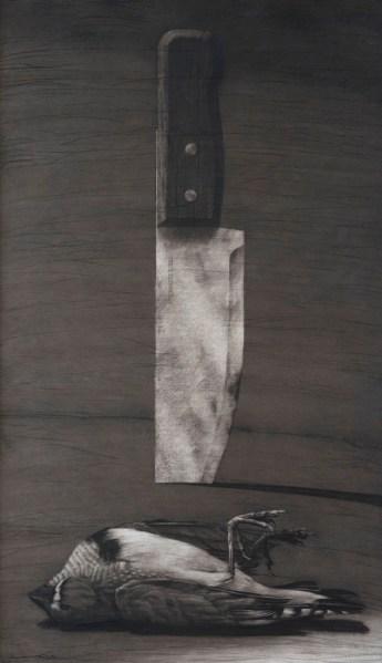 le couteau et l'oiseau - youssef abdellek - copie