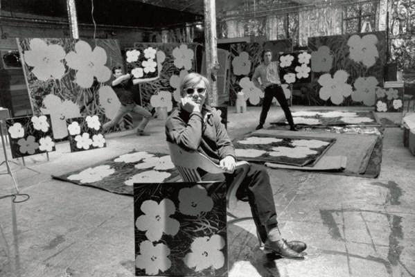 © Andy Warhol Factory -  artistes qui délèguent leur travail
