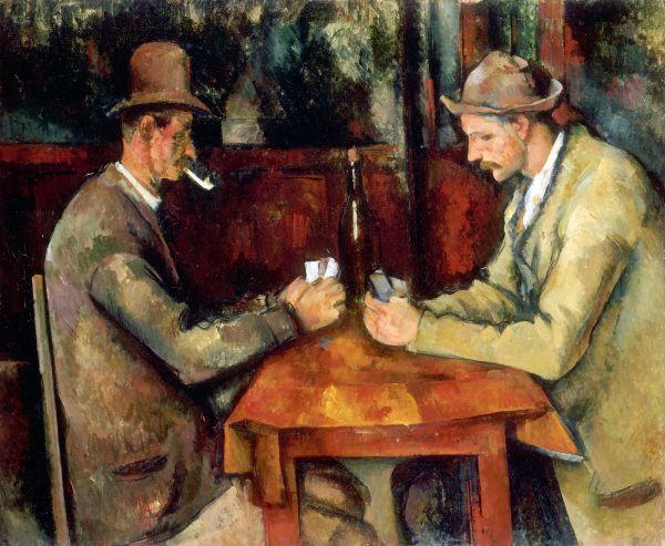 joueurs-cartes-cezanne-fOeuvres hors de prix - Valeur de l'art -