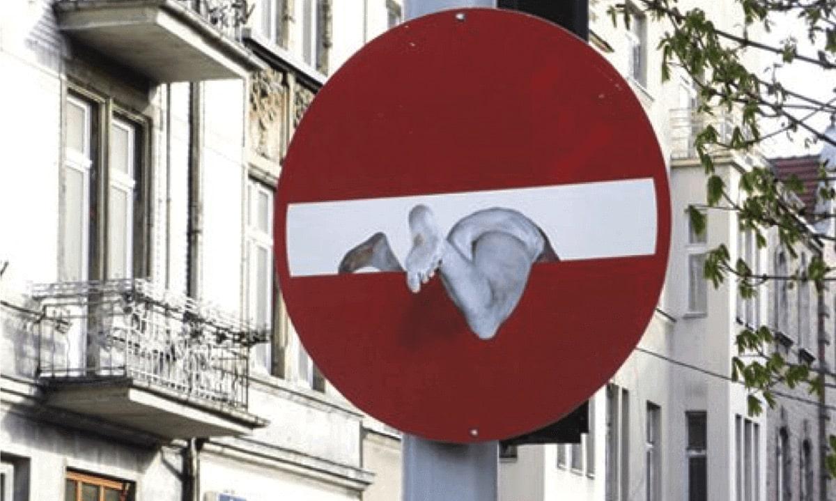 Optical illusions in Street Art