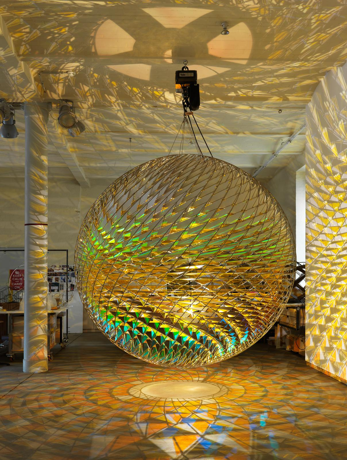 Spherical Space, Olafur Eliasson (2015)