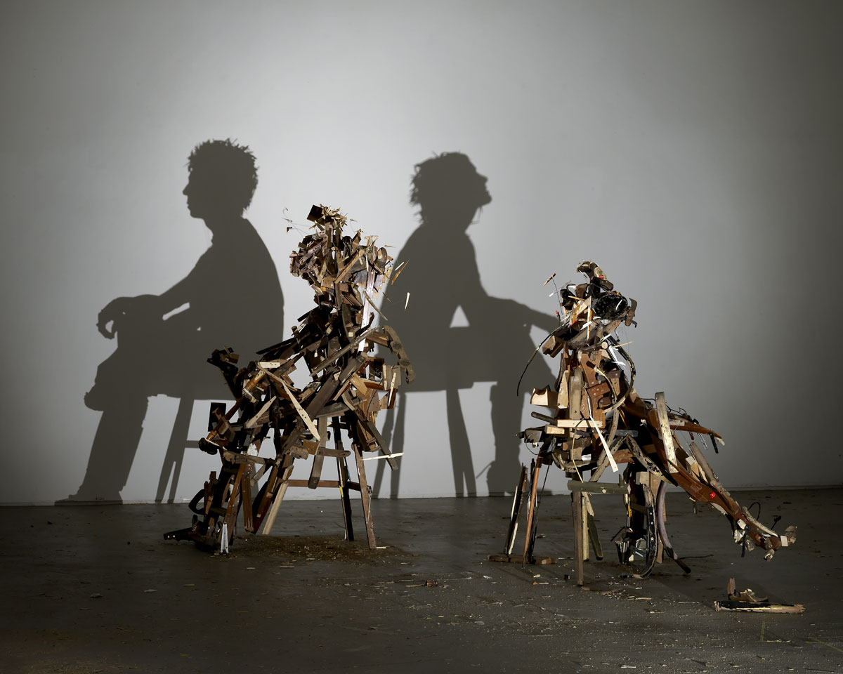Tim Noble et Sue Webster, recyclage