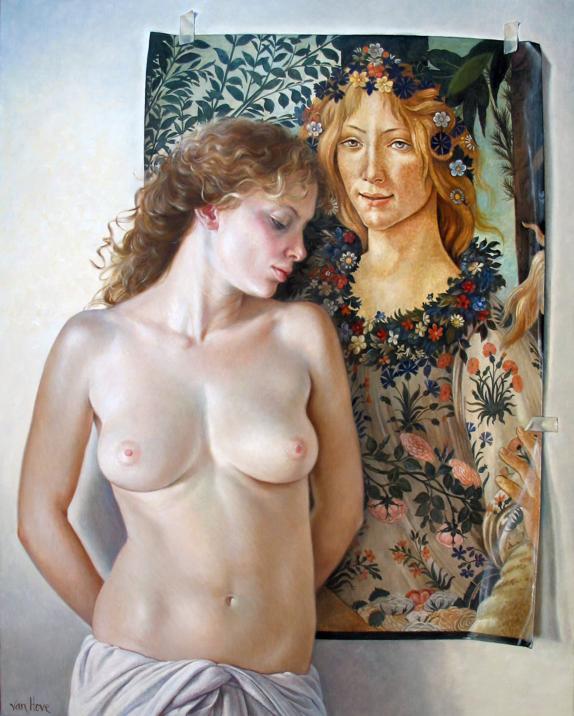 Figurative painting by Francine Van Hove