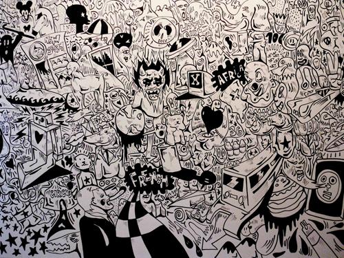 drawing Fabien Verschaere