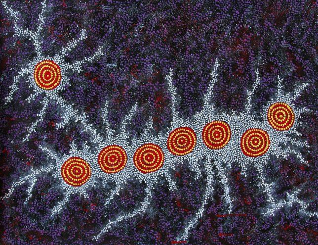 Gabriella Possum Nungurrayi art aborigene