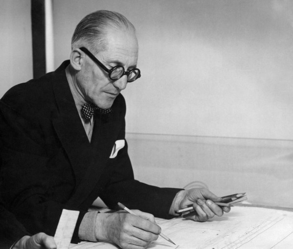 Le Corbusier en 1961 Crédits : AFP Photo / STF