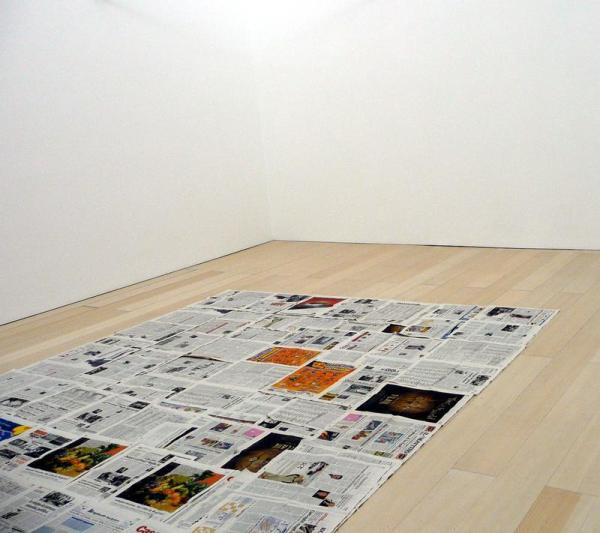 Luciano Fabro – Floor tautology, 1967