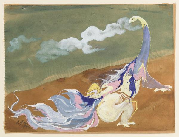 EUGEN GABRITSCHEVSKY - Sans titre, 1942