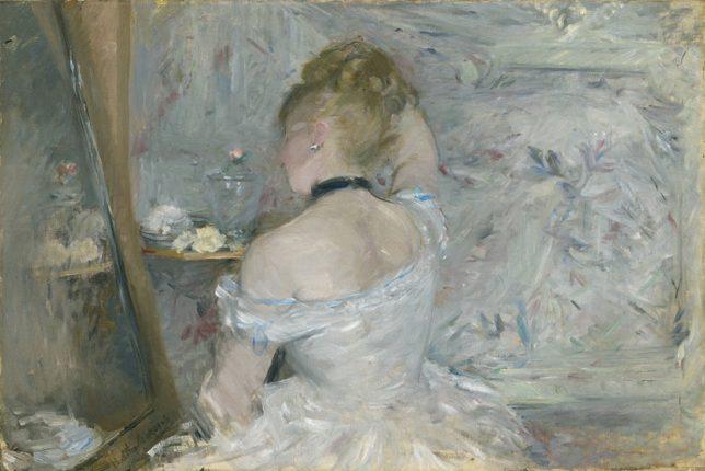 Femme art moderne Berthe Morisot