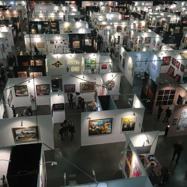 Le salon d 39 art contemporain art3f s 39 installe bruxelles - Salon art contemporain ...