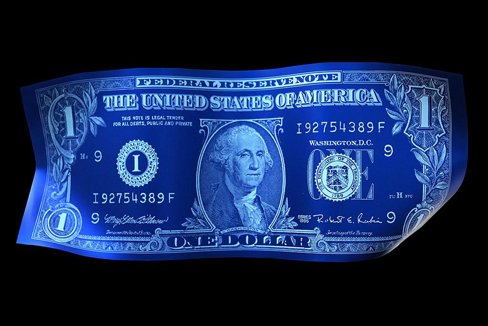 Karl Lagasse, One Dollar, 2016