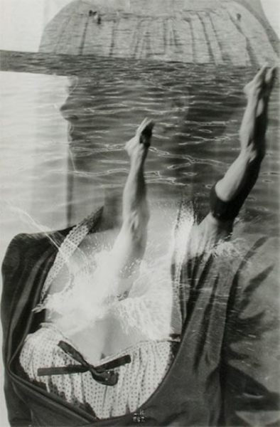 maurice-tabard-le-plongeon-1948-photographie-positive-photomontage-via-bnf