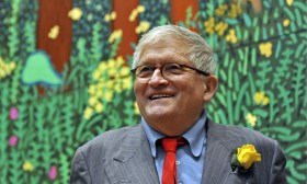 David Hockney at the Royal Academy, 2012