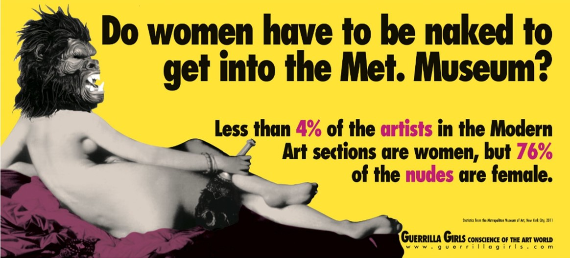 ©Guerilla Girls, Feminist Artists