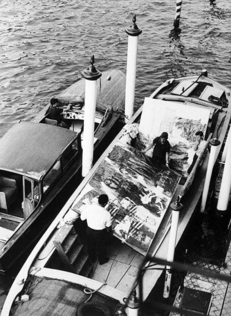 Rauschenberg - Venise en 1964