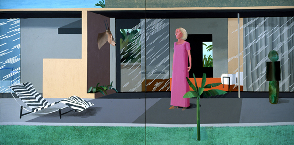David Hockney, Beverly Hills Housewife