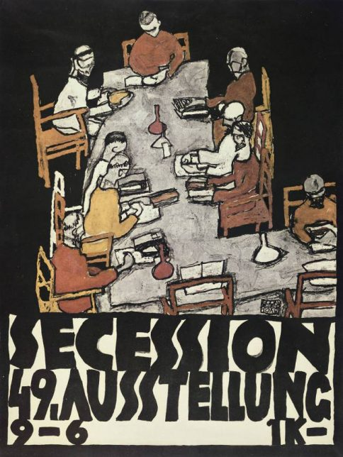 Vienne secession, 49th Exhibition die freunde, 1918
