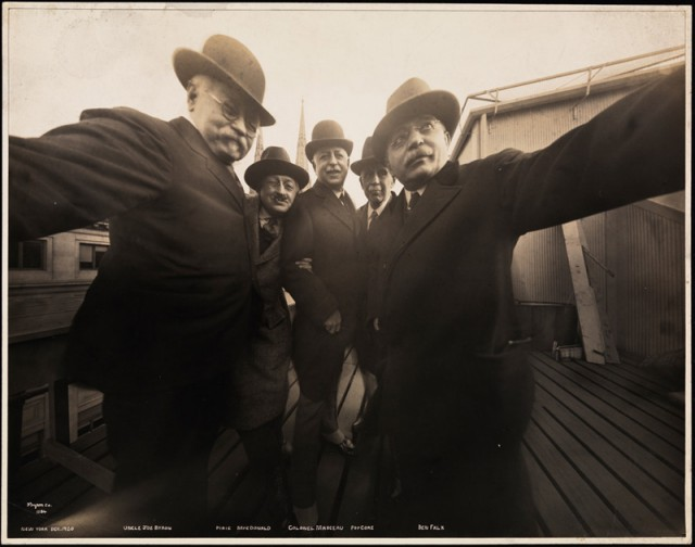 A short history of the selfie