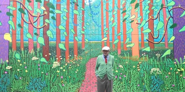 FRANCE-ART-PAINTING-HOCKNEY