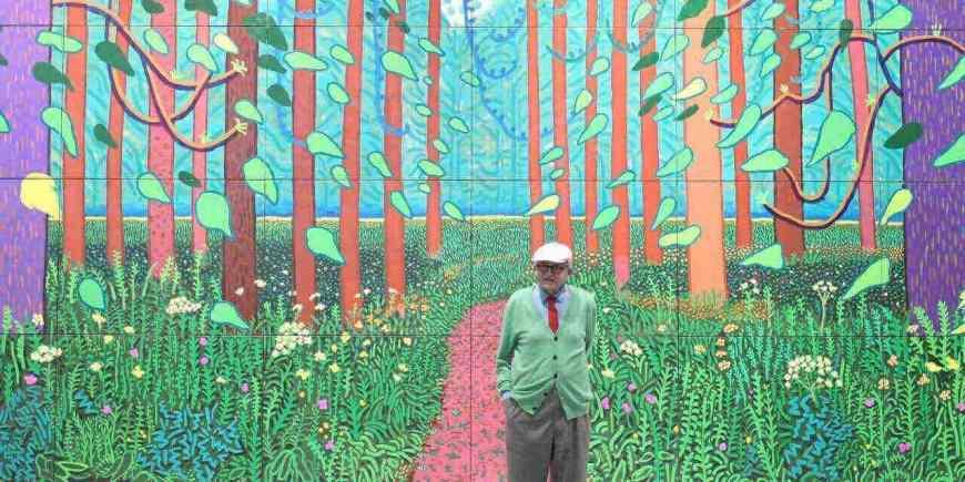 Hockney au Pompidou