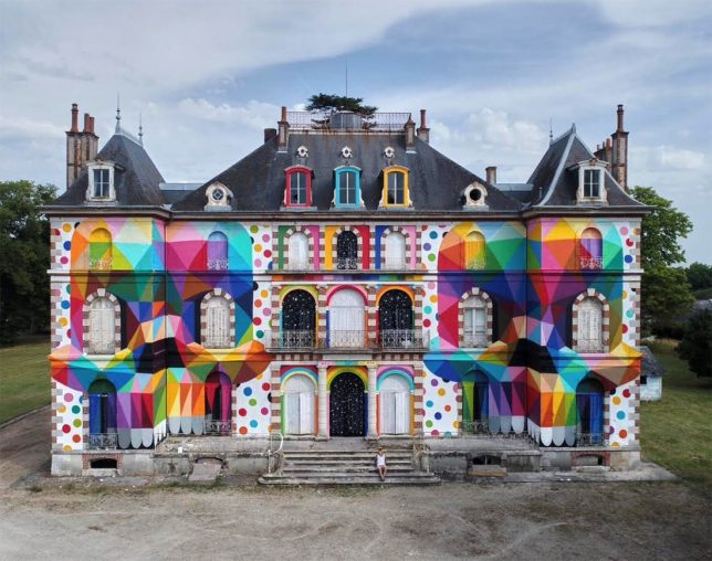 Our favourite works by the street artist Okuda