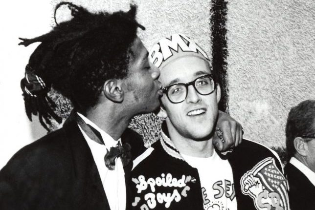Keith Haring and Jean Michel Basquiat