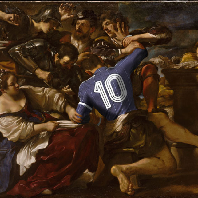 Le foot dans l'art