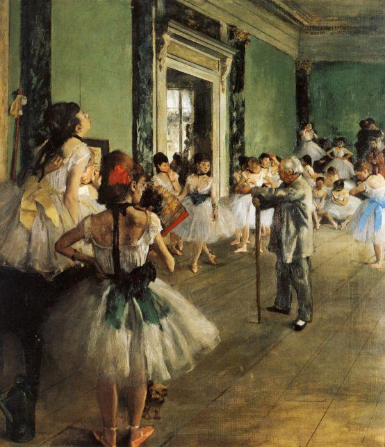 degas danse peinture