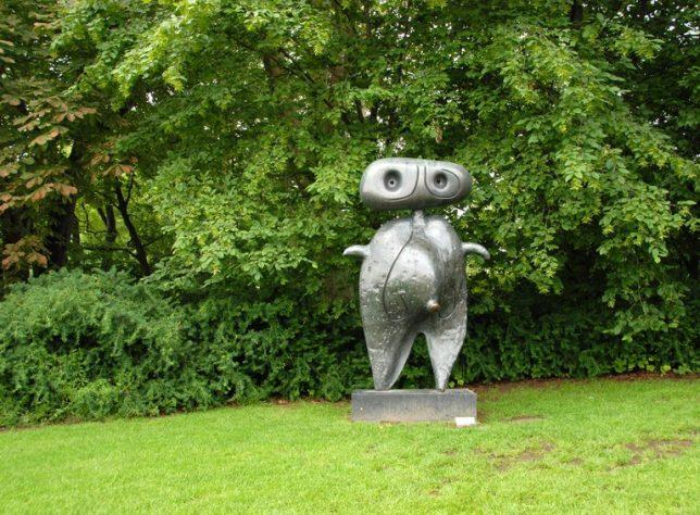 sculpture miro