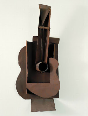 sculpture guitare picasso