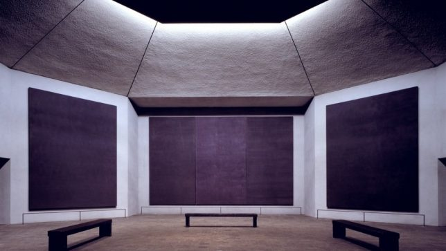 triptyque diptyque rothko chapelle
