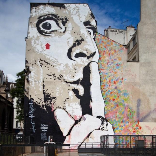 Rencontre avec Jef Aérosol, incontournable de l'art urbain
