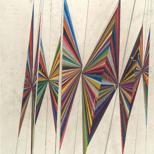 Mark Grotjahn - Série Butterfly Paintings & Drawings