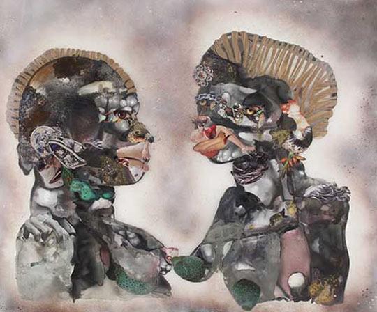Wangechi Mutu - Cactus Green Nips (2009)
