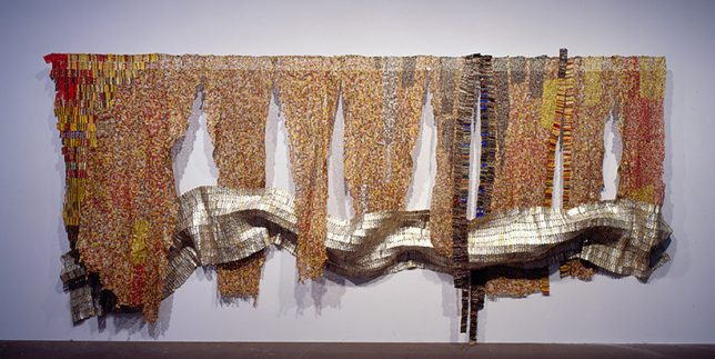 El Anatsui - Strips of Earth's Skin (2008)