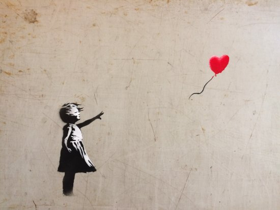 Banksy – Girl with balloon (2002)