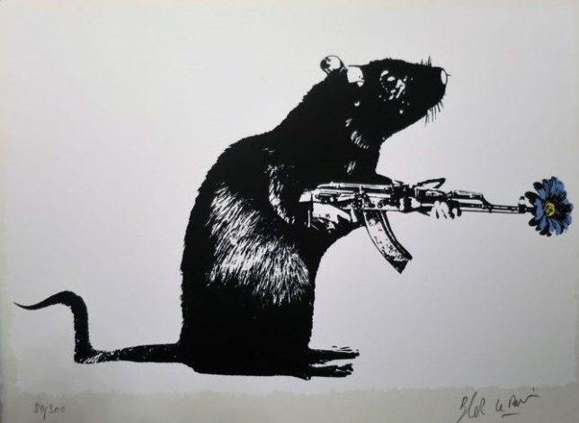 Blek le Rat - The Warrior