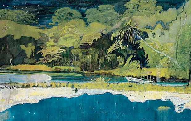 Grande Riviere (2001-2) by Peter Doig