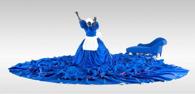 Mary Sibande - I refuse to recline (2010)