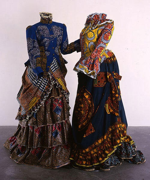 Yinka Sonibare - Gay Victorians (1999)