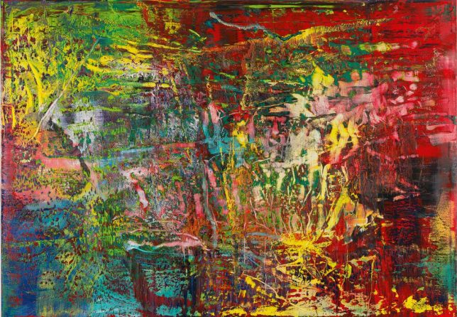 Gerhard Richter, art abstrait