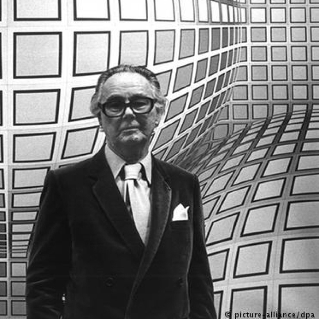 Portrait de Vasarely