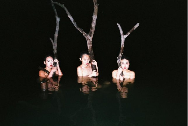 Ren Hang portraits nus