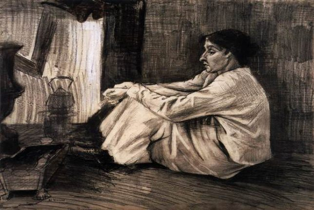 van gogh painting Sien